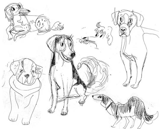 Meg Hunt Sketchbook