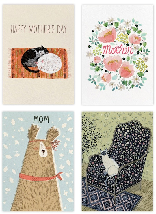 Mother's Day at Red Cap Cards for Paperless Post