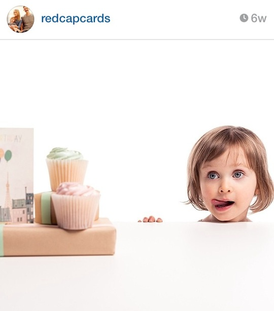 Red Cap Cards' artists on Instagram: Red Cap Cards // Arlo