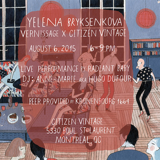 Vernissage by Yelena Bryksenkova for Citizen Vintage