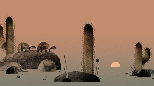 We Found a Hat art by Jon Klassen