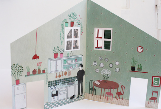 Red Cap Cards artist Yelena Bryksenkova for Flow